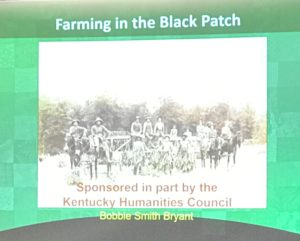 Farming in the Black Patch title slide